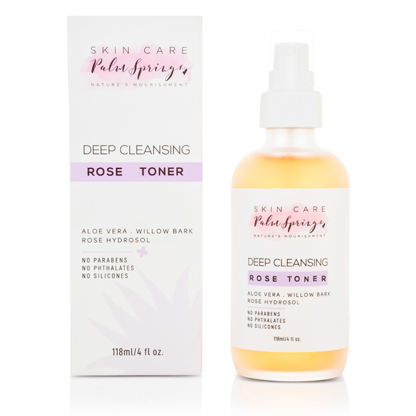 Deep Cleansing Rose Toner